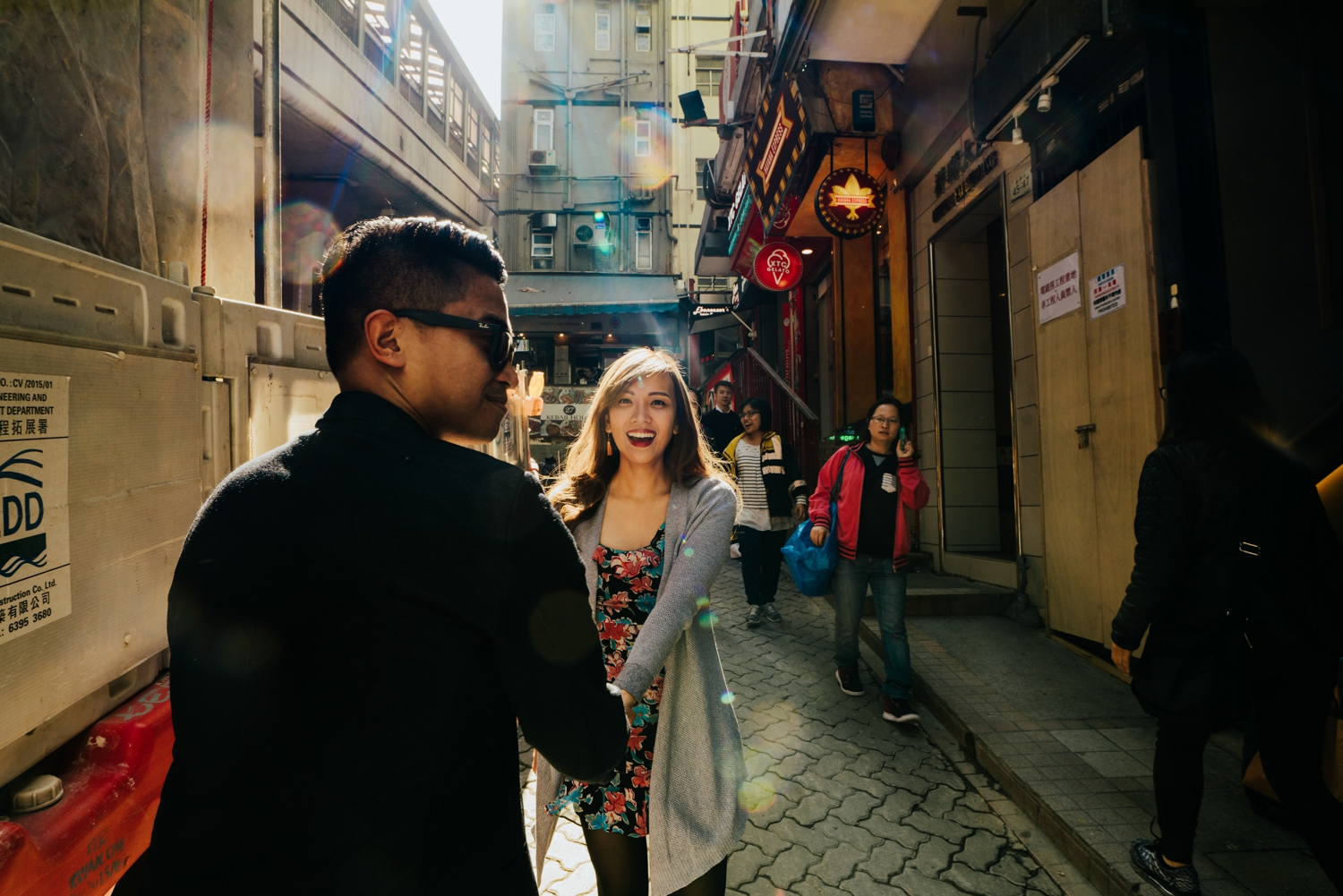Oak St Studios - Ellaine and Jem - Hong Kong Engagement Prenup Session