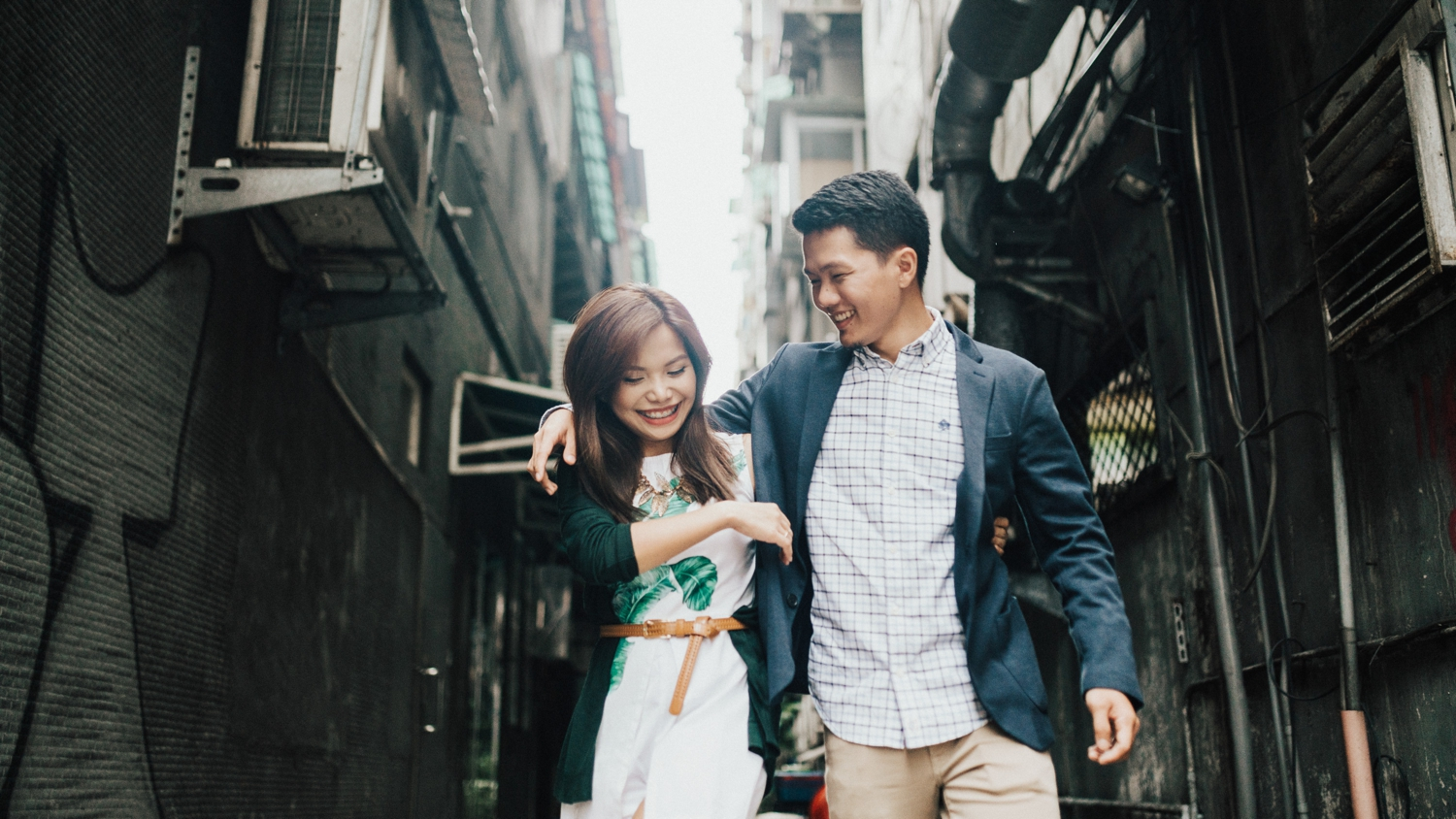 Oak St Studios- Jericho and Julie Taiwan Engagement Session