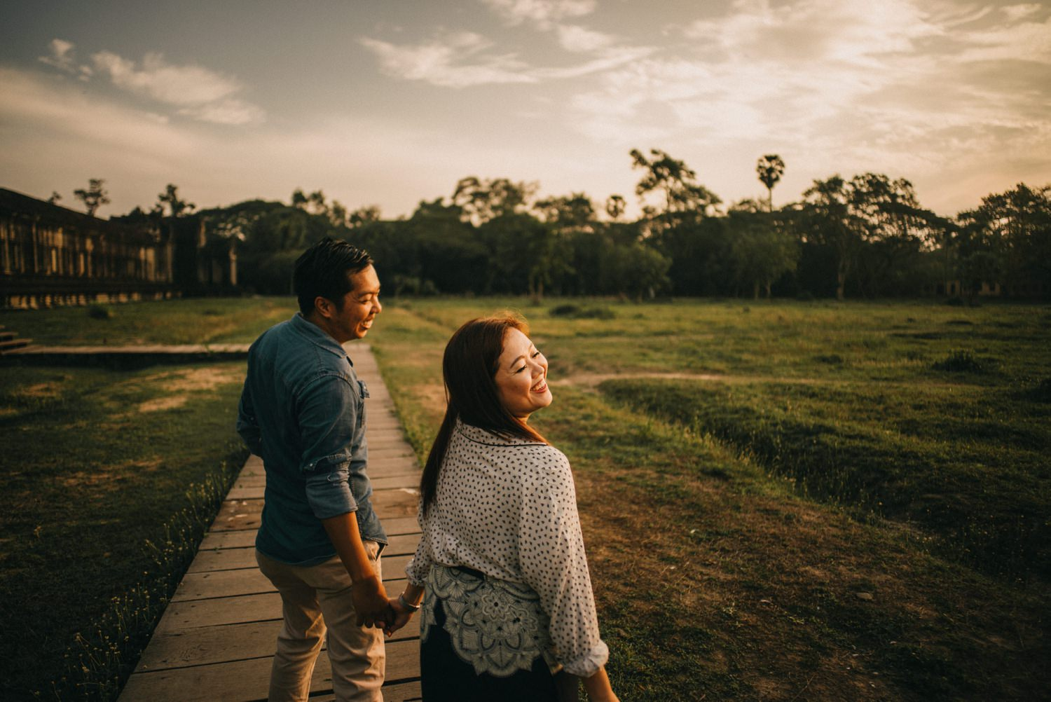 Oak St. Studios - Fritzie and Irvin - Siem Reap Prenup Engagement Session