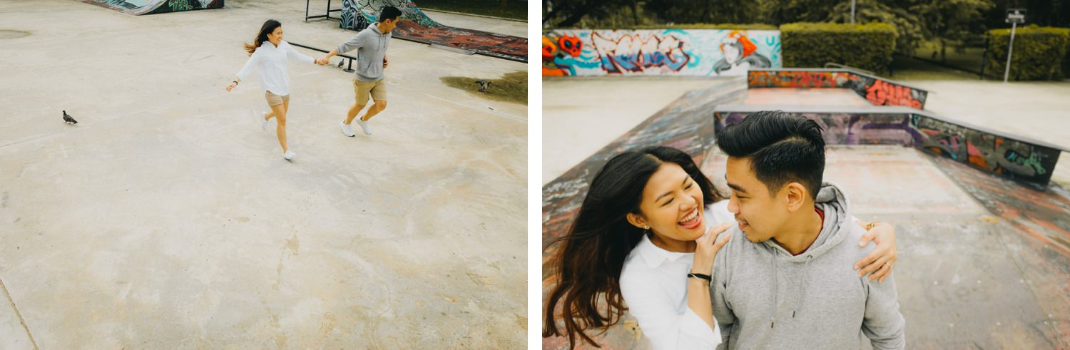 Oak St Studios - Elda and Josh Singapore Prenup Engagement
