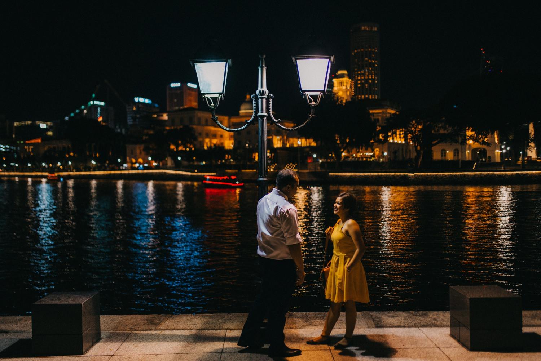 Oak St Studios - Eman and Pat - Singapore Engagement Session