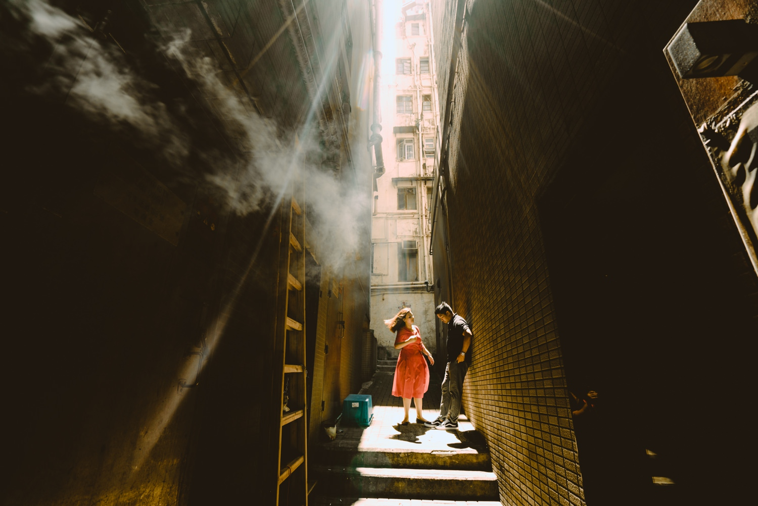 Oak St Studios - Patrick and Kate - Hong Kong Engagement Session
