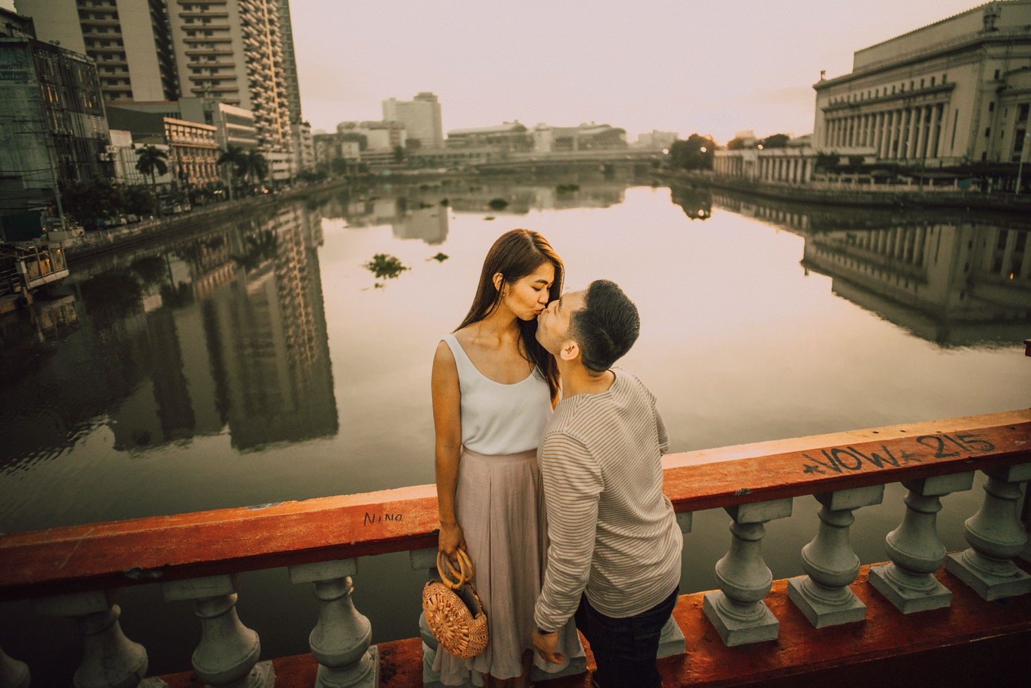 Oak St. Studios - Z and Vryan - Old Manila Engagement Prenup Session