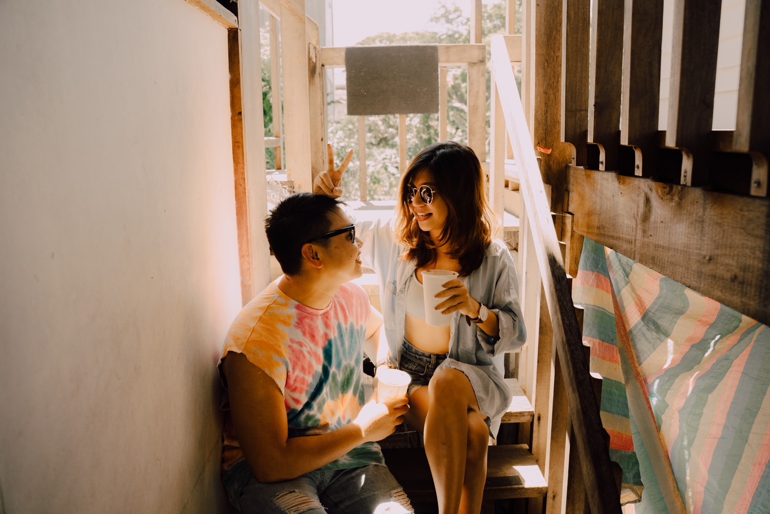 Oak St Studios - Jun and Kaye - La Union Engagement Session -
