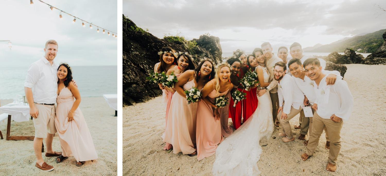 Oak St Studios - Mabel and Tyler - Batangas Beach Wedding Photographer
