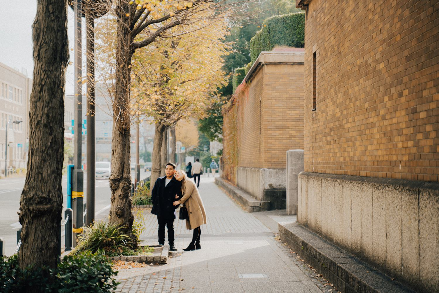Oak St. Studios - Sheanne and Bojo Tokyo Japan Engagement Session