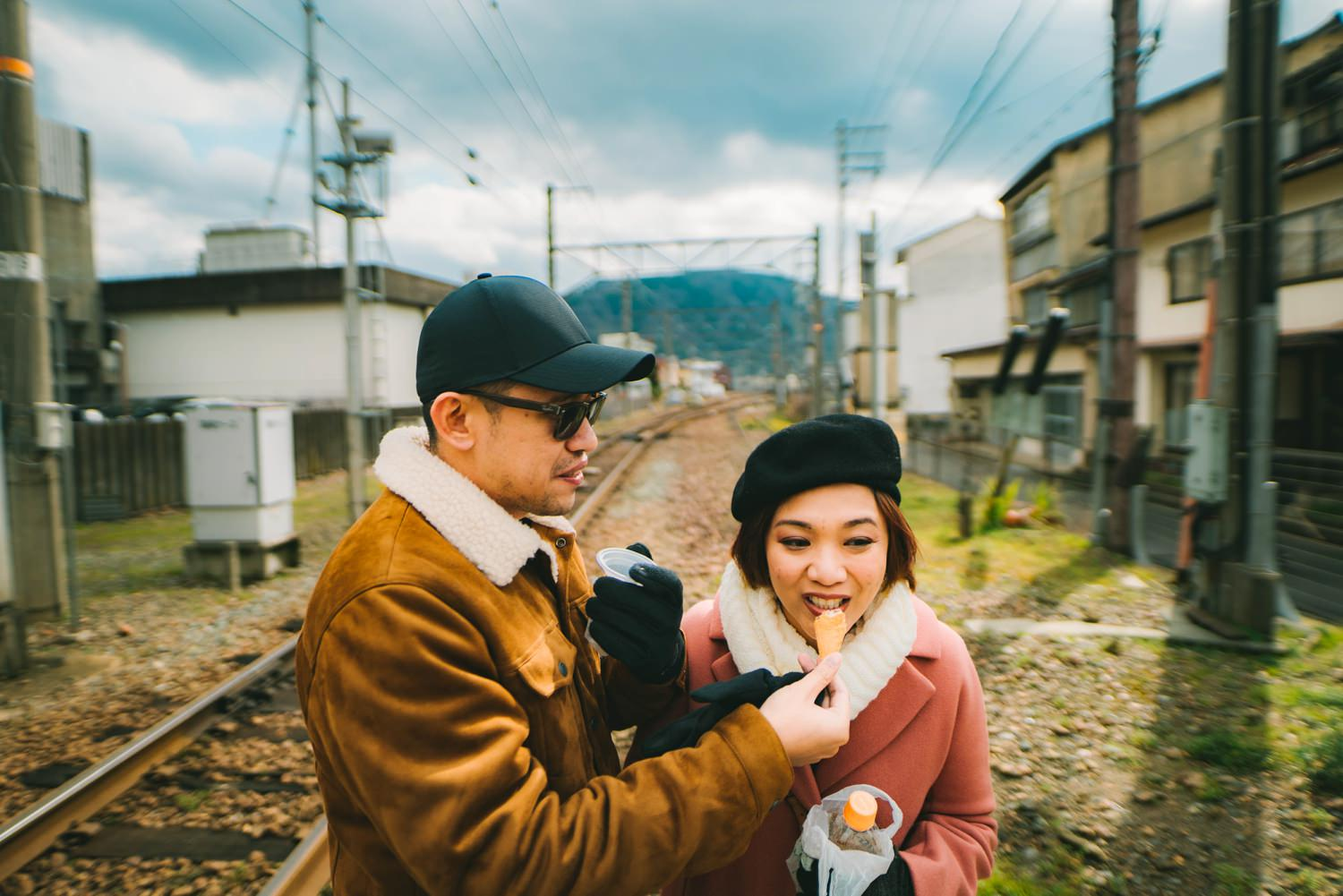 Oak St. Studios - Cel and Marlo- Osaka Engagement Prenup Photo