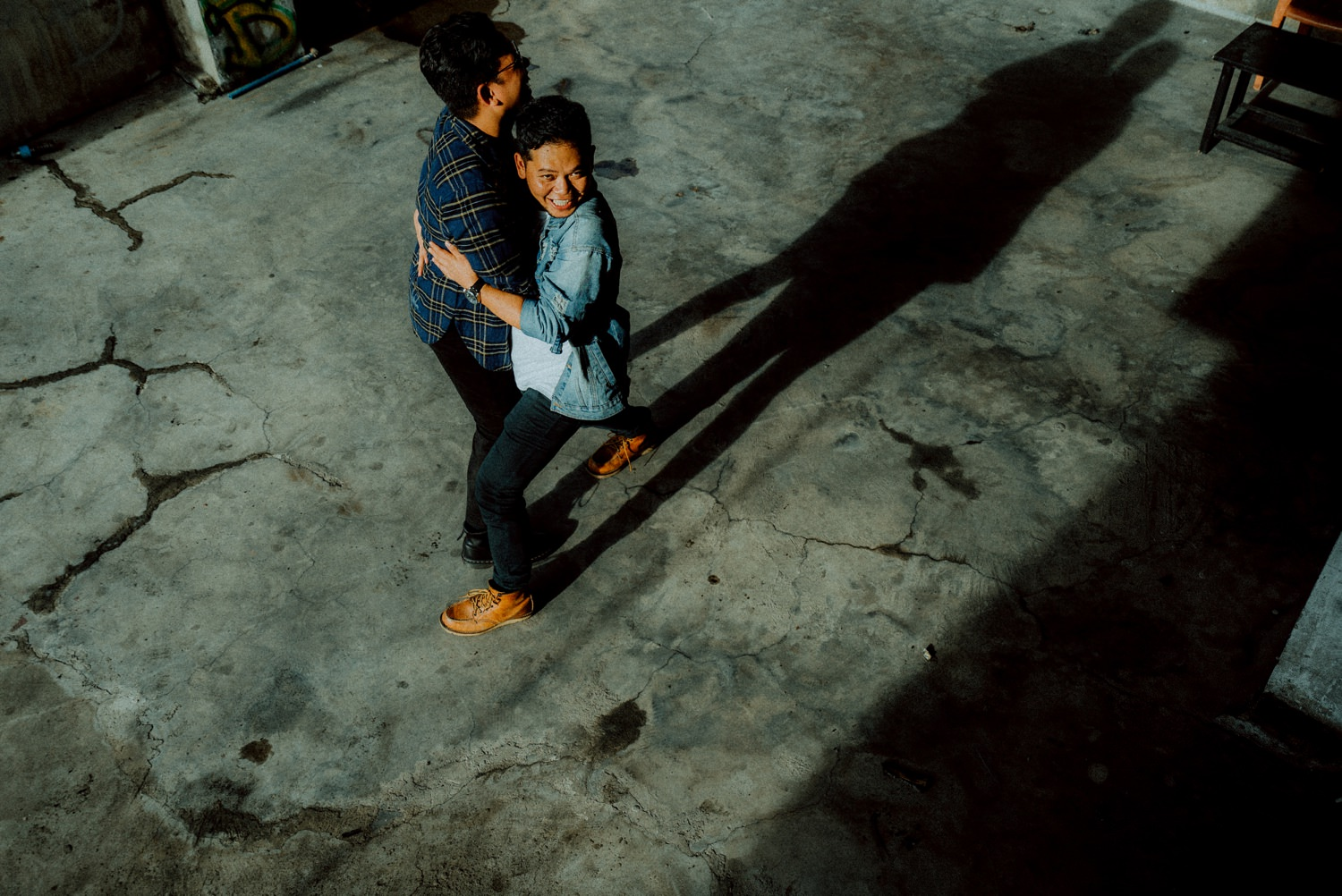 Oak St Studios Duds and Roi Manila Engagement Session LGBT Pride month