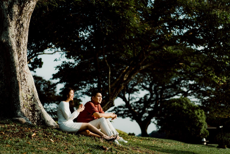 Oak St. Studios - Bea and Iking - Singapore Engagement Photographer