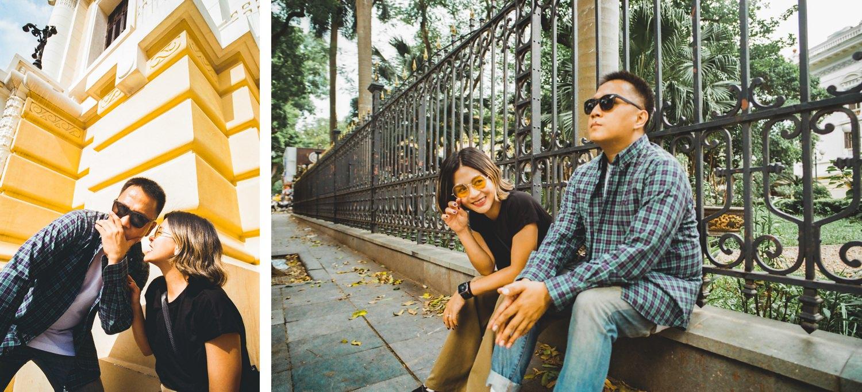 Oak St. Studios - Elaine and Calde - Hanoi Vietnam Engagement Photographer