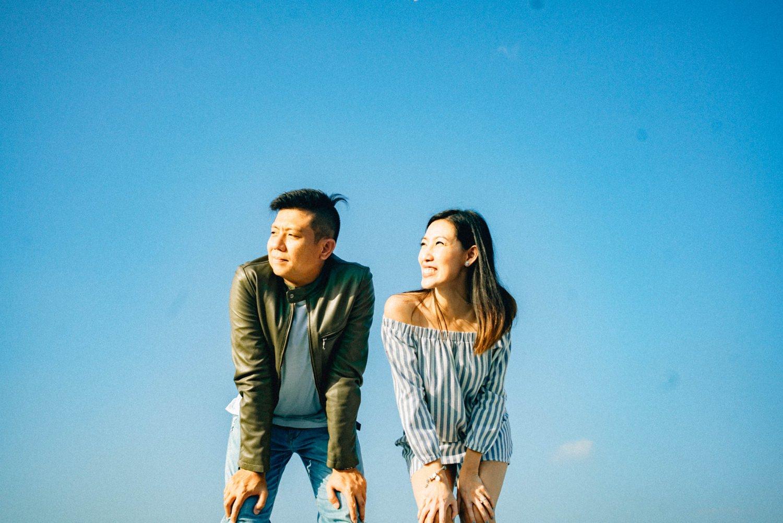 Oak St. Studios - Aica and Brian Manila Philippines Engagement Photographer