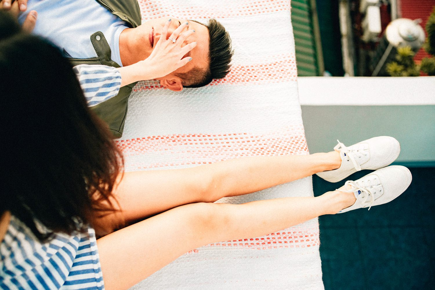 Oak St. Studios - Aica and Brian Manila Philippines Engagement Photographer
