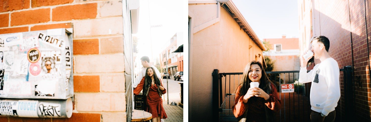 Oak St. Studios - Bea and Andrew - Perth Australia Engagement Prewedding Photographer