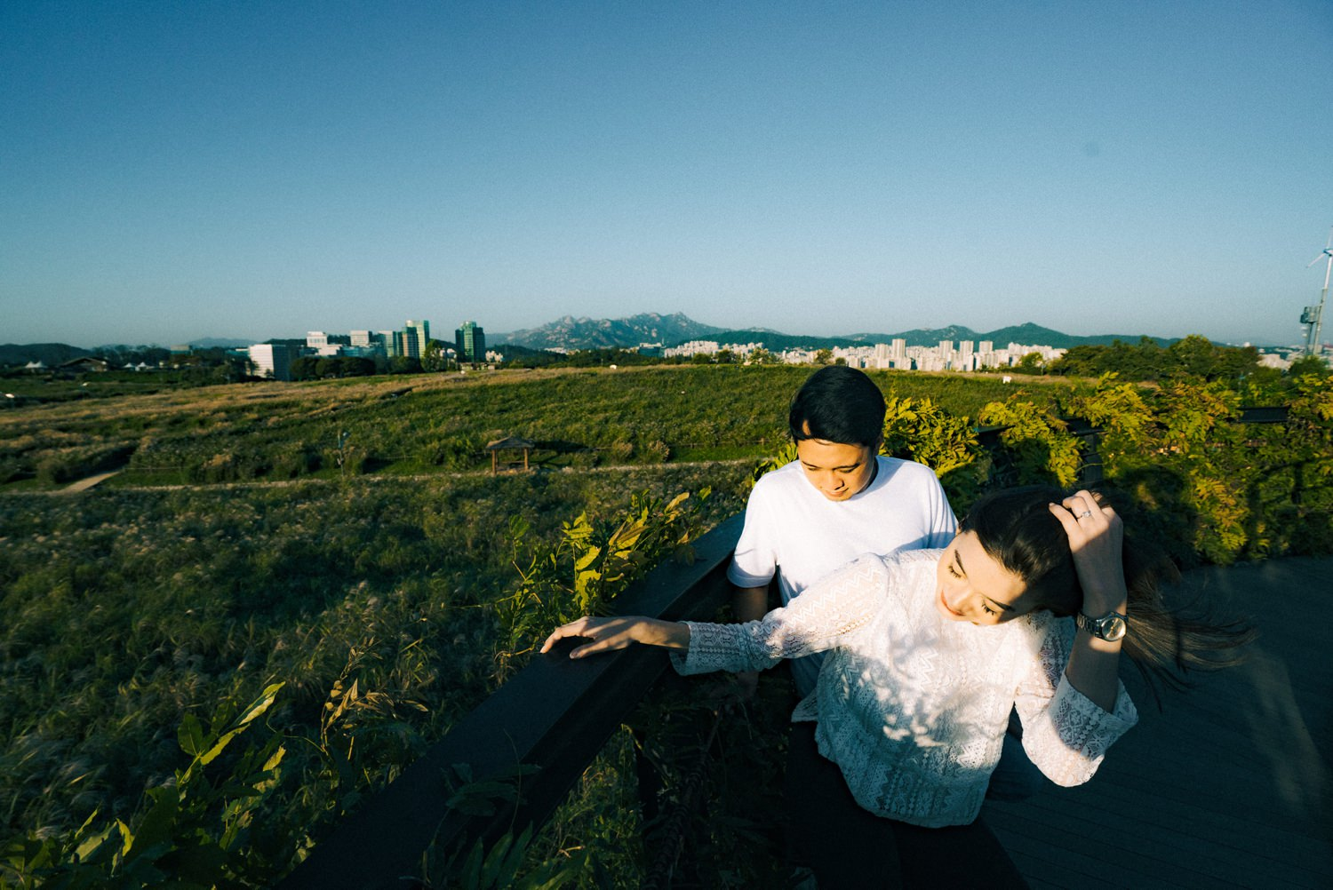 Oak St. Studios - Erika and Vince Seoul Korea Engagement Wedding Photographer