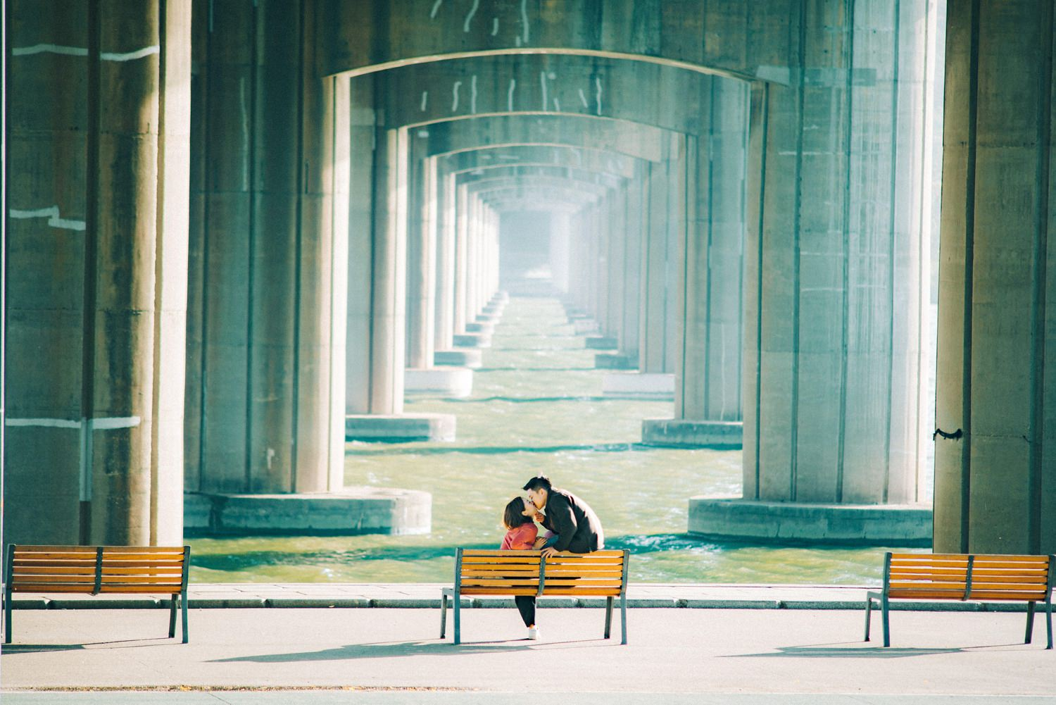 Oak St Studios - Stacey and Han- Seoul Korea Engagement Wedding Photographer -