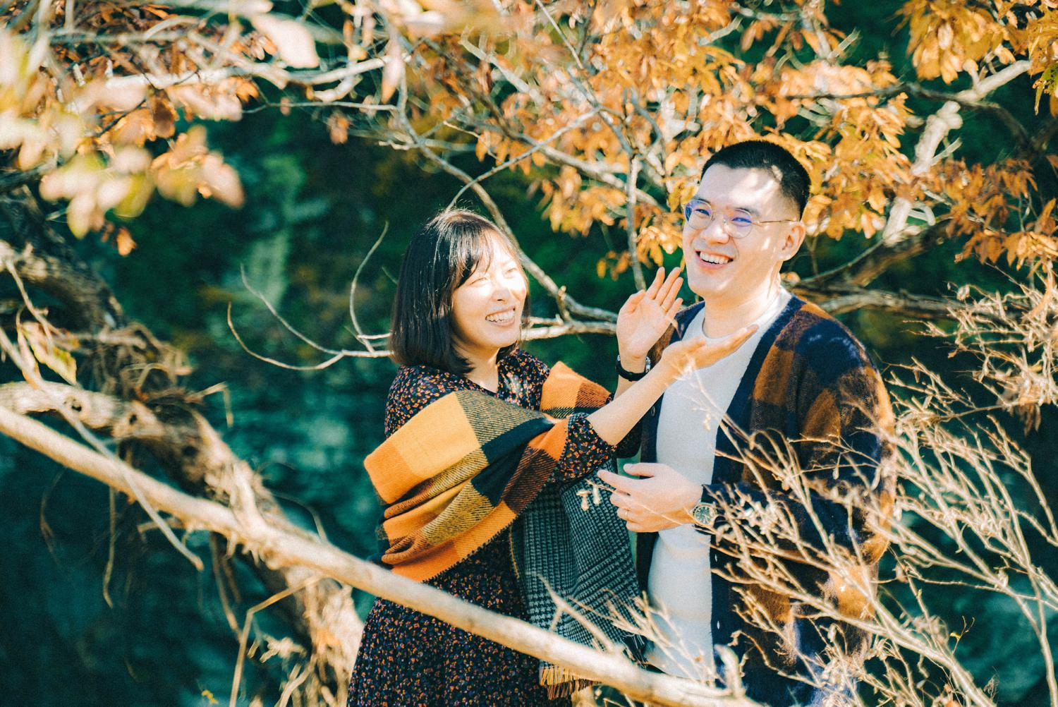 Oak St Studios - Rain and Yanyan Tokyo Japan Engagement Wedding Photographer