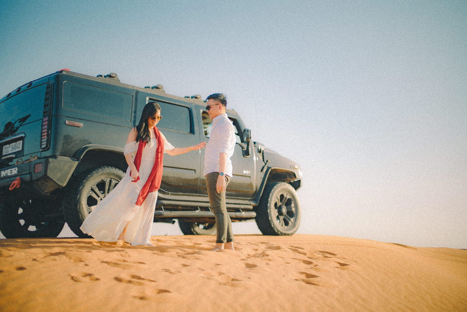 Oak St Studios - Soccy and Feliz Dubai Engagement Photographer