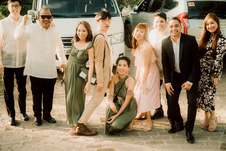 Oak St. Studios - Fatima and Christian Tagaytay Intimate Wedding