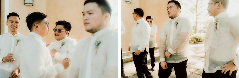 Oak St. Studios - Sarah and Rowell - Tagaytay Wedding Photograher