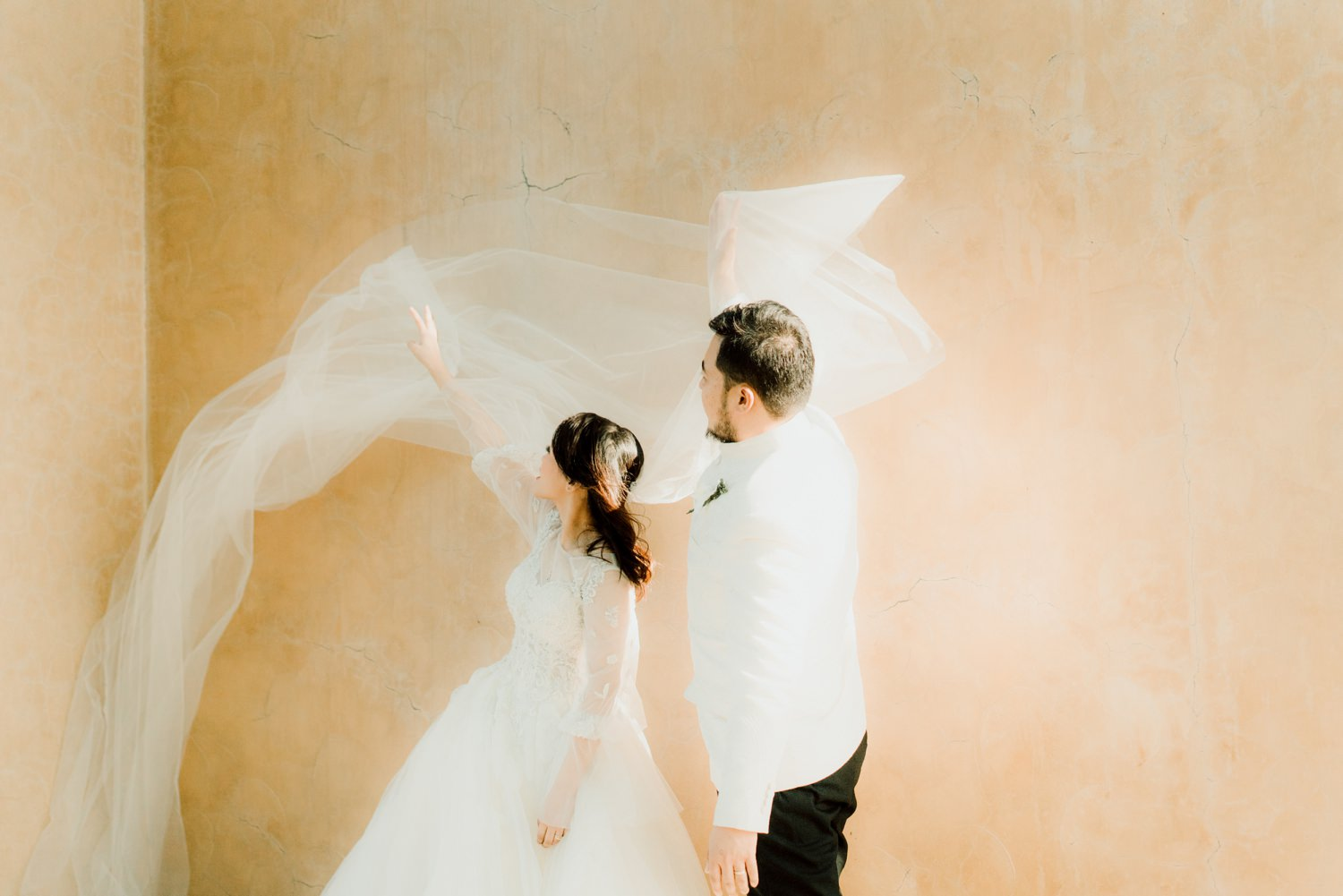 Oak St. Studios - Sarah and Rowell - Tagaytay Wedding Photograher