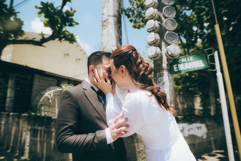 Oak St. Studios - Dennis and Ef Intimate Wedding Photographer Manila Philippines -