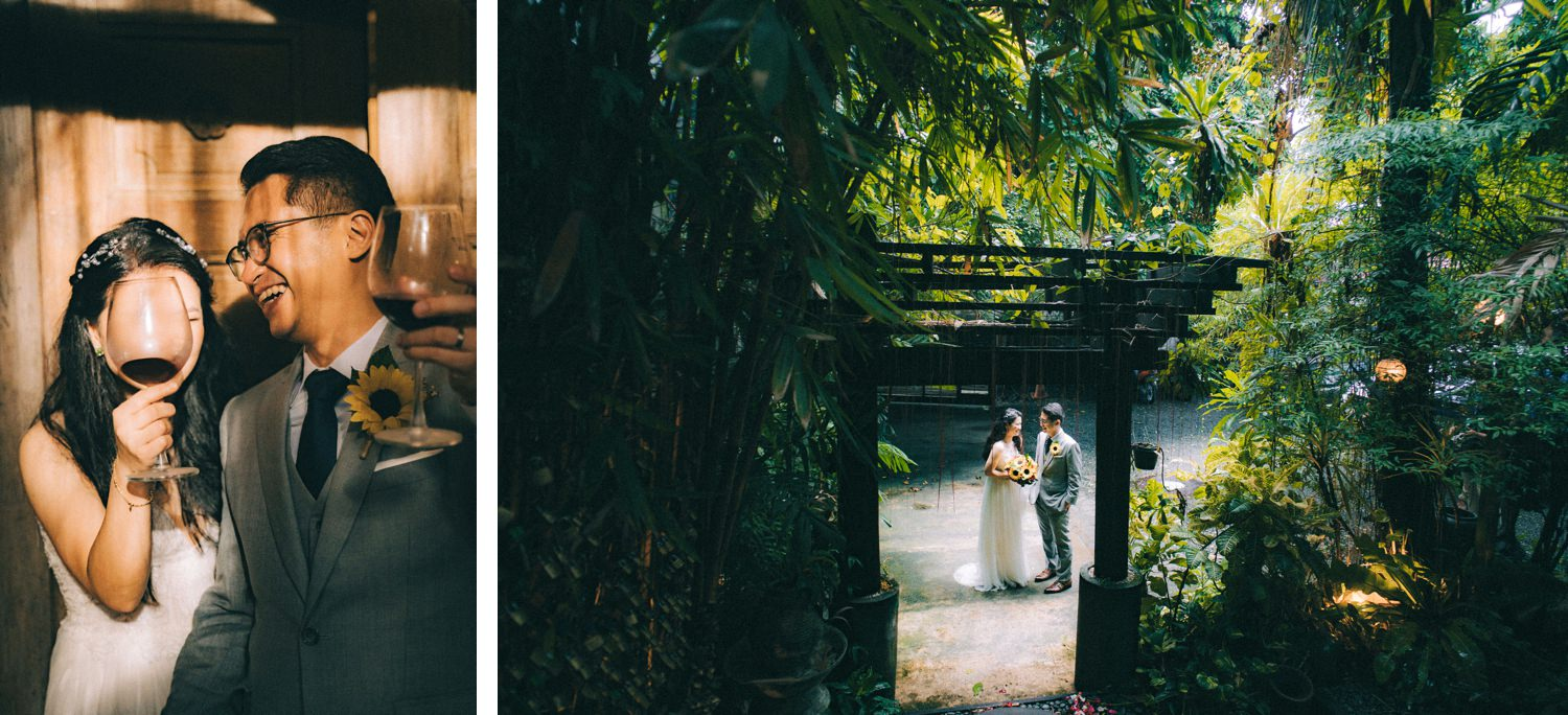 Oak St. Studios - Dodong and Maan Intimate Wedding Photographer Manila