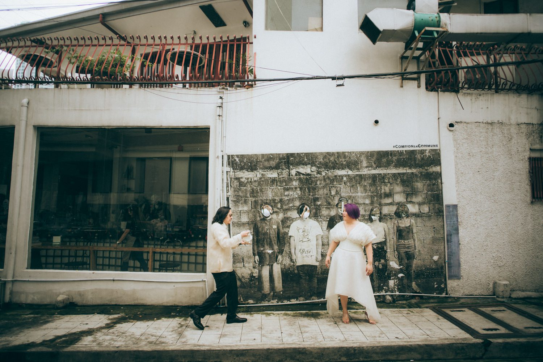 Oak St Studios - Ross and Raffy Intimate Wedding Photographer
