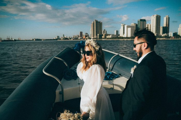 Oak St. Studios - Kisses and John - Intimate Yacht Wedding Philippines Photographer