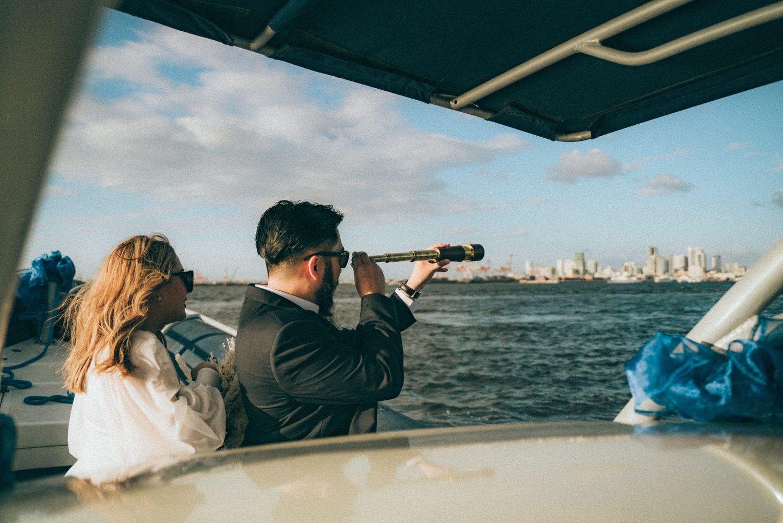 Oak St. Studios - Kisses and John - Intimate Yacht Wedding Philippines Photographer