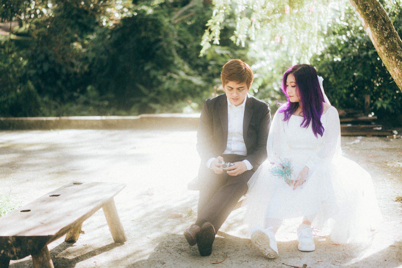 Oak St. Studios - Migo and Aja - Baguio Prenup Engagement Photographer